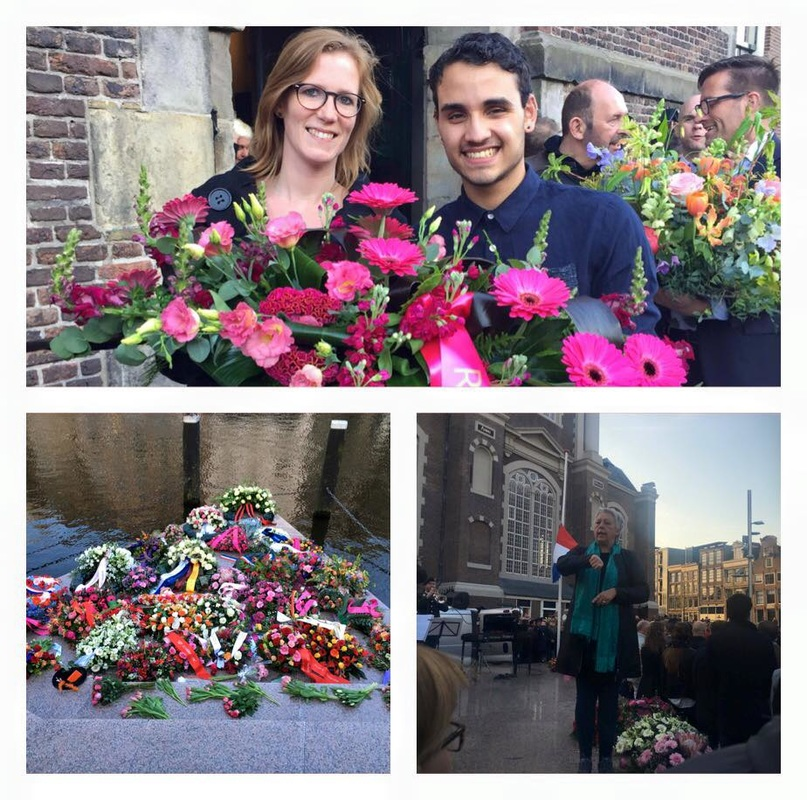 roze-gebaar-dodenherdenking-amsterdam-4-mei-2016